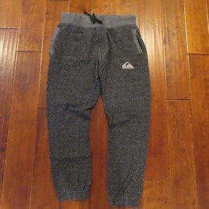 Mens Quicksilver Gray Jogger Sweatpants